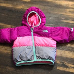 The north face 550 winter coat sz 3-6 like new